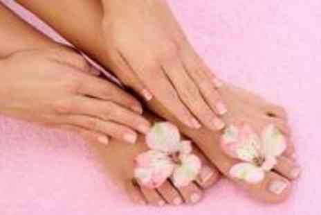Beautiful Elegance by Claire - Shellac manicure and pedicure - Save 75%