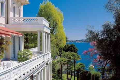 The Grand Hotel Majestic - 4 Star Prestigious Belle Époque Hotel on Lake Maggiore for two - Save 29%