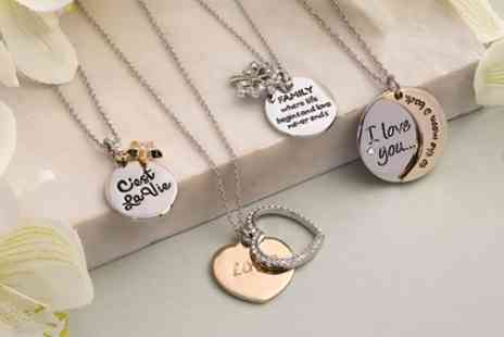 Neverland Sales - Inspirational Necklaces with Crystals from Swarovski - Save 81%