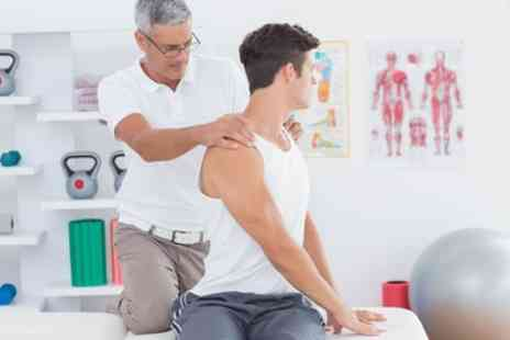 Shield Clinic - Spinal Analysis Package with Two Treatments - Save 83%