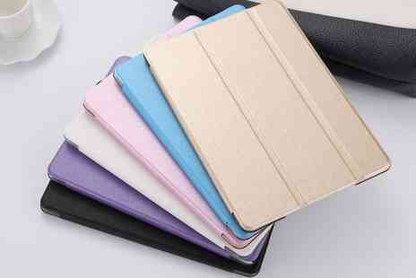 Groupon Goods Global GmbH - iPad Panel Case for iPad 2, 3, 4, Air, Air 2, Mini 1, 2, 3, or Mini 4 in Choice of Colour - Save 0%