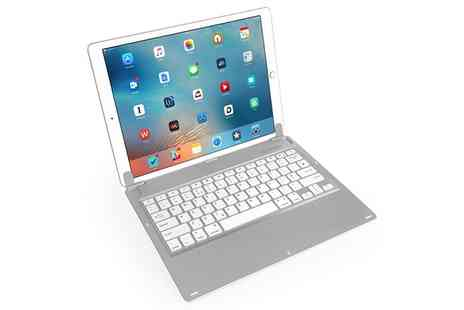 Groupon Goods Global GmbH - Caseflex Bluetooth Keyboard for Apple iPad Pro - Save 0%
