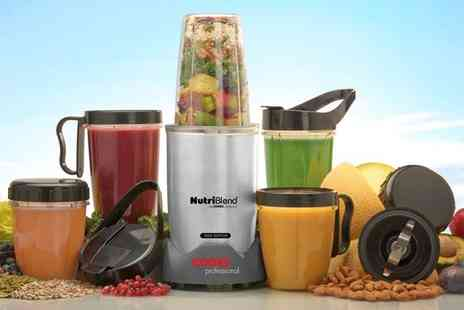 Groupon Goods Global GmbH - Cooks Professional 10 or 15 Piece 1000W Nutriblend Blender Set - Save 0%