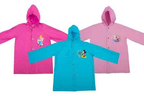 Groupon Goods Global GmbH - Kids Character Raincoat - Save 0%