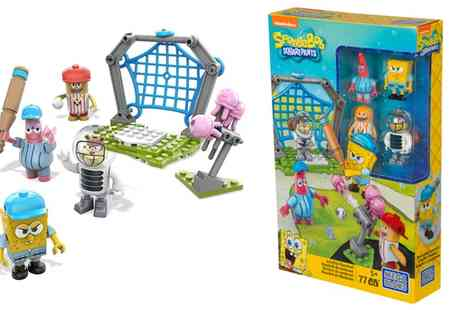 Groupon Goods Global GmbH - Mega Bloks SpongeBob Jellyfish Baseball Construction Kit - Save 0%