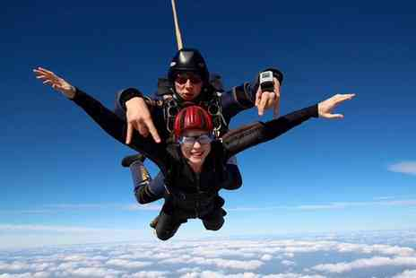 UK Parachuting - 7,500 Feet Tandem Skydiving Experience at Beccles Airfield - Save 0%