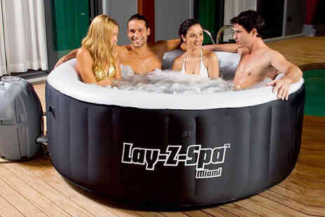 Goods Direct - Luxury Garden Mystery Deal Hot Tub, Rattan Sofa Set, Lawnmower, BBQ & More - Save 0%