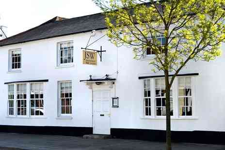 JSW - Michelin starred tasting menu meal for 2 in Hampshire - Save 50%