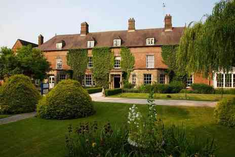 Risley Hall Hotel - One or two night stay for two with breakfast or include dinner and a glass of wine - Save 37%