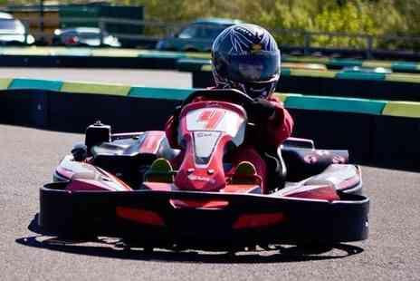 Karting North East - 30 minute junior karting experience for one child - Save 51%