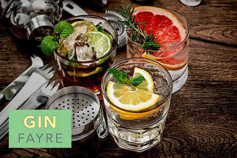 The Gin Fayre - Ticket to The Gin Fayre with a cocktail on arrival, goody bag and 10 samples on Sunday 6th May - Save 47%