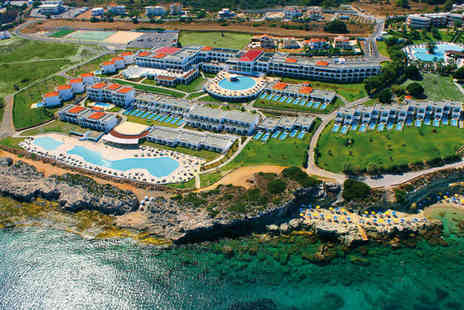 Kresten Royal Villas and Spa - Five Star All Inclusive Greek Island Delight For Two - Save 48%