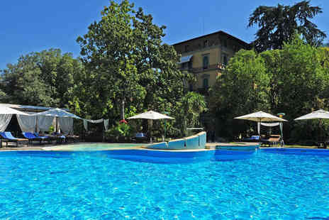 Grand Hotel & La Pace - Five Star Lavishly Styled Sanctuary Stay For Two in Lush Tuscan Hills - Save 80%