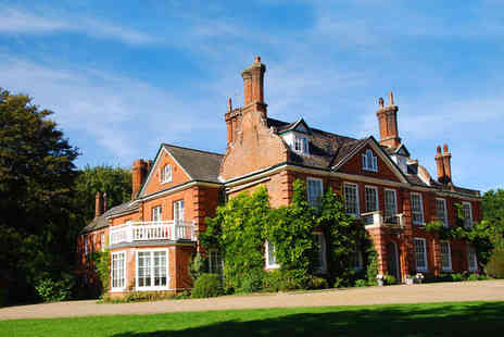 The Norfolk Mead Hotel - Four Star Elegant Country Manor with Swan Lake and Gardens Stay For Two - Save 0%