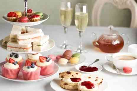 The Masonic Bar - Mad Hatters Prosecco or Cocktail Afternoon Tea for Two or Four - Save 53%