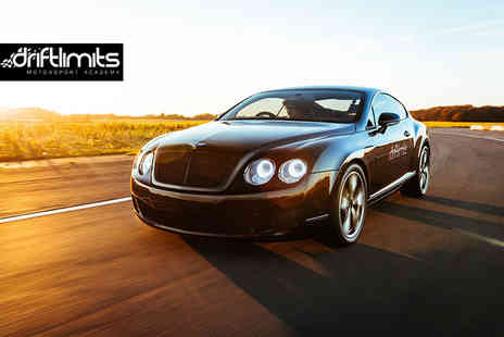 Drift Limits - 14 lap Bentley Continental GT driving experience - Save 50%