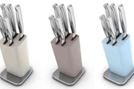 Groupon Goods Global GmbH - Morphy Richards Special Edition Knife Block - Save 63%