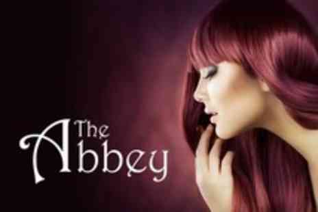 The Abbey - Choice of Colour, Such as Full Head Foils Plus Haircut, Conditioning Treatment and LOreal Finish - Save 64%