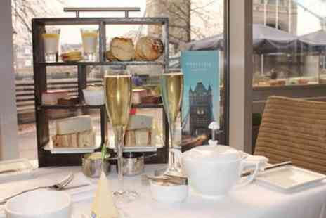The Tower - Afternoon Tea and Optional Sparkling Wine or Champagne for Two with Tower Bridge View - Save 50%