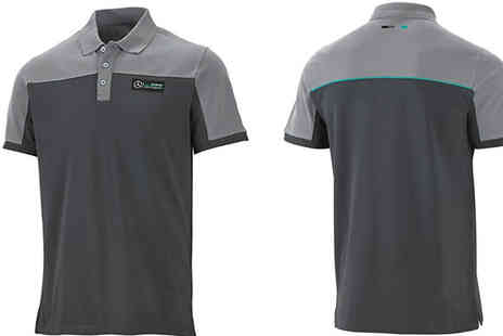 Brand Logic Europe - Mens Mercedes Polo Shirt Choose 2 Colours - Save 68%