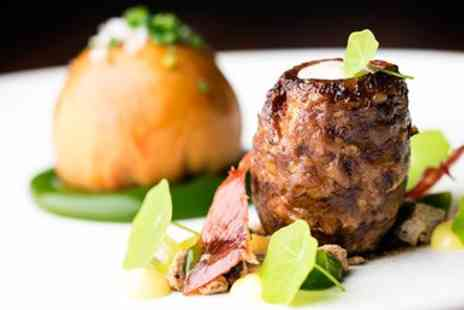Castle Dairy - Award winning tasting menu meal for 2 with bubbly - Save 38%