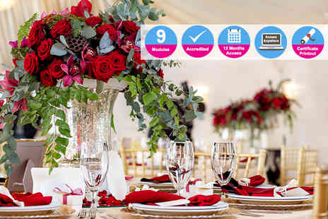 International Open Academy - Accredited event design and styling course - Save 96%