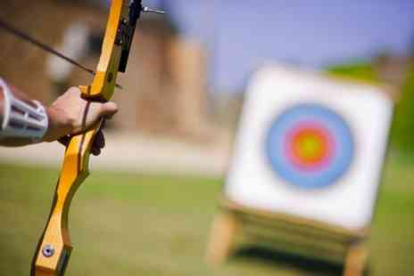 Lea Marston Events - Archery experience with 20 arrows to share for up to two people - Save 0%