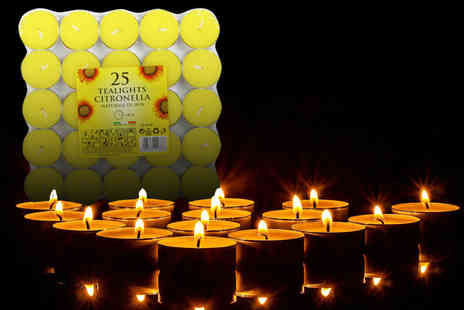 Ckent - Citronella or provence tea lights - Save 83%