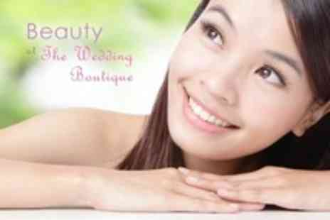 The Wedding Boutique - Facial With Deep Exfoliation and Mask Plus Eyelash Tint or Eyebrow Shape or Tint - Save 69%