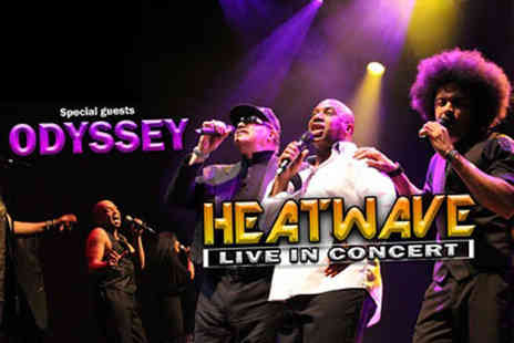 ATG Tickets - Band A ticket to see Soul Unlimited, featuring Heatwave and Odyssey on 22nd April - Save 38%