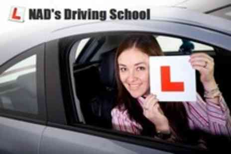 Nad's Driving School - Ten Hours of Driving Lessons Plus Practical Test - Save 62%