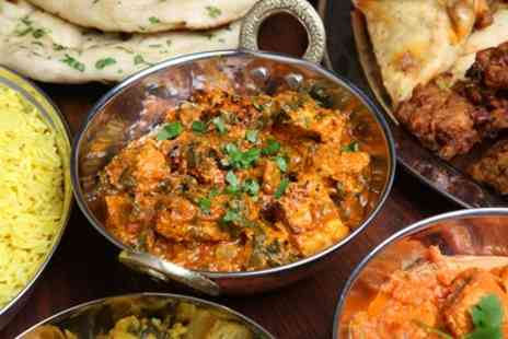 Seven Elephants - Two Course Indian Meal with Rice or Naan for Two or Four - Save 53%