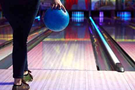 M&Ds Theme Park - Bowling with Draught Soft Drinks for Four or Six - Save 43%