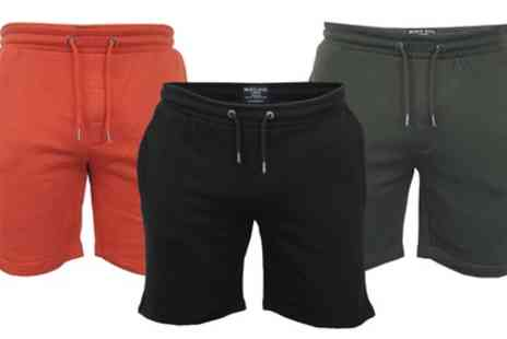 Groupon Goods Global GmbH - Brave Soul Mens Sweat Shorts - Save 0%