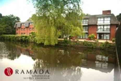 Ramada Birmingham - One Night Stay For Two - Save 0%