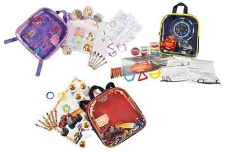 Groupon Goods Global GmbH - Activity Backpacks Blaze, Cars 3 or Disney Princess - Save 0%