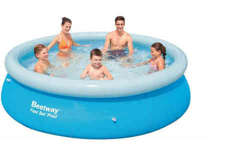 Ckent - 8ft Bestway easy setup swimming pool - Save 67%