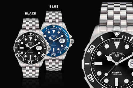 Rotatio - Andre Belfort luxury automatic divers watch plus Delivery is Included - Save 87%