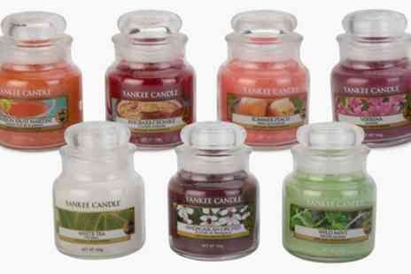 Groupon Goods Global GmbH - Three or Six Yankee Candle Small Jars 211g - Save 0%