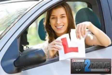 mini2drive - Three Hours of Driving Tuition - Save 75%