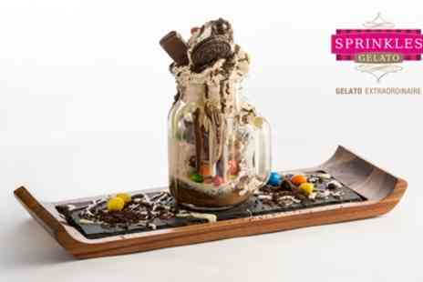 Sprinkles Gelato Basildon - Two or Four Desserts in a Jar - Save 33%