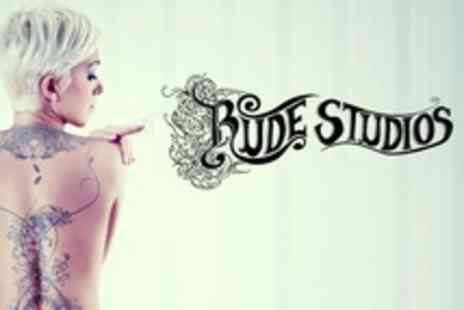 Rude Studios - Three Sessions of Laser Tattoo Removal  - Save 67%