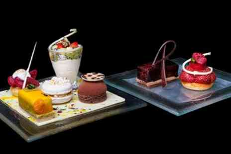 Hilton Park Lane - Chocolate afternoon tea for 2 on Park Lane - Save 50%
