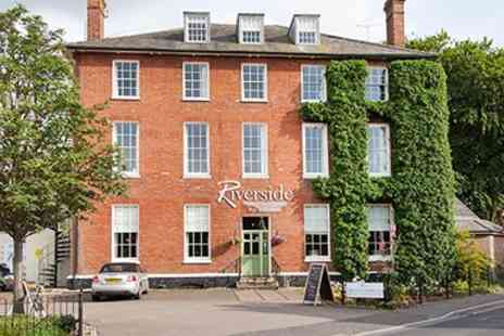 The Riverside House Hotel - Historic riverside hotel stay - Save 0%