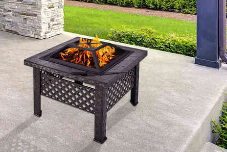 FDS Corporation - Outdoor fire pit patio heater - Save 69%