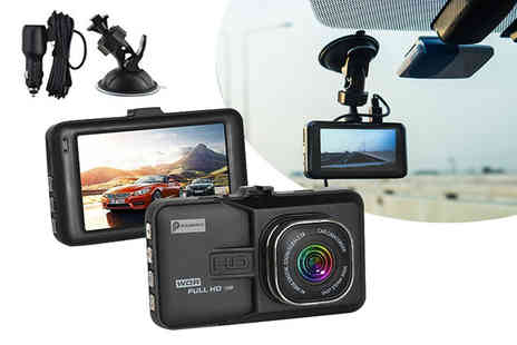 Charles Oscar - HD dash accident cam or HD dash cam and 32GB SD card - Save 88%