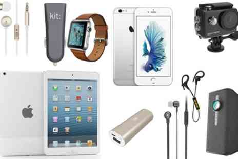Groupon Goods Global GmbH - Mystery Deal, Chance to Receive Apple iPad Mini Apple Watch, Fresh Ribbon Headphones and In Car Charger or Smart Speaker - Save 0%