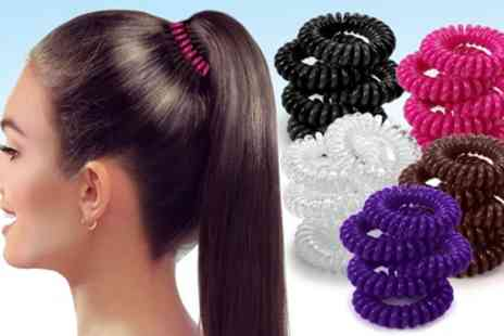 Groupon Goods Global GmbH - 5 Pack of Spiral Bobbles - Save 86%