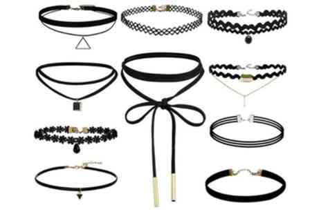 Groupon Goods Global GmbH - One, Two or Three Ten Piece Choker Sets - Save 86%