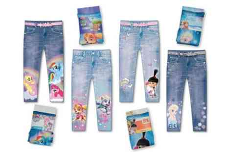 Groupon Goods Global GmbH - Childrens Printed Leggings in Choice of Design - Save 0%